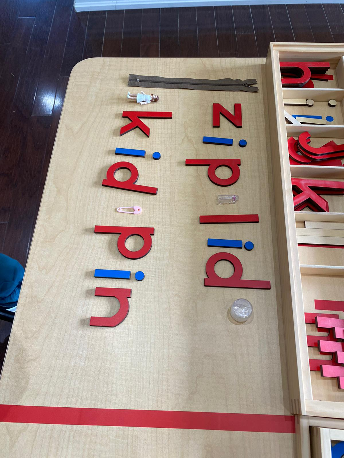 Adora Bright Learning Centre Language Moveable Alphabet