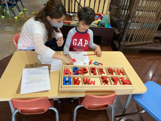 Adora Bright Learning Centre Moveable Alphabet Private School